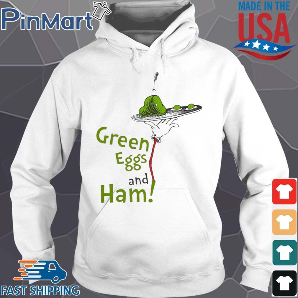 Dr. Seuss Green Eggs And Ham Shirt Hoodie trang