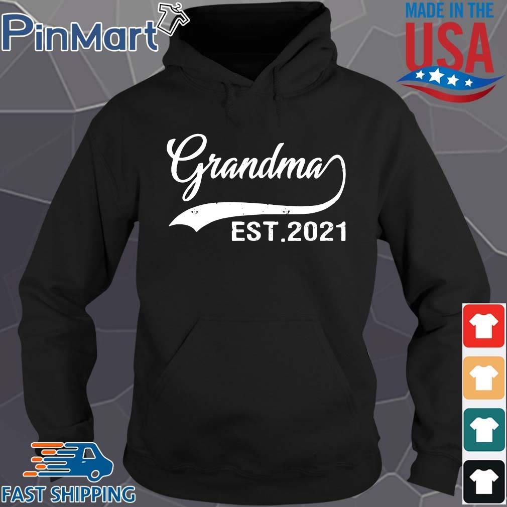 Grandma est 2021 shirts Hoodie den
