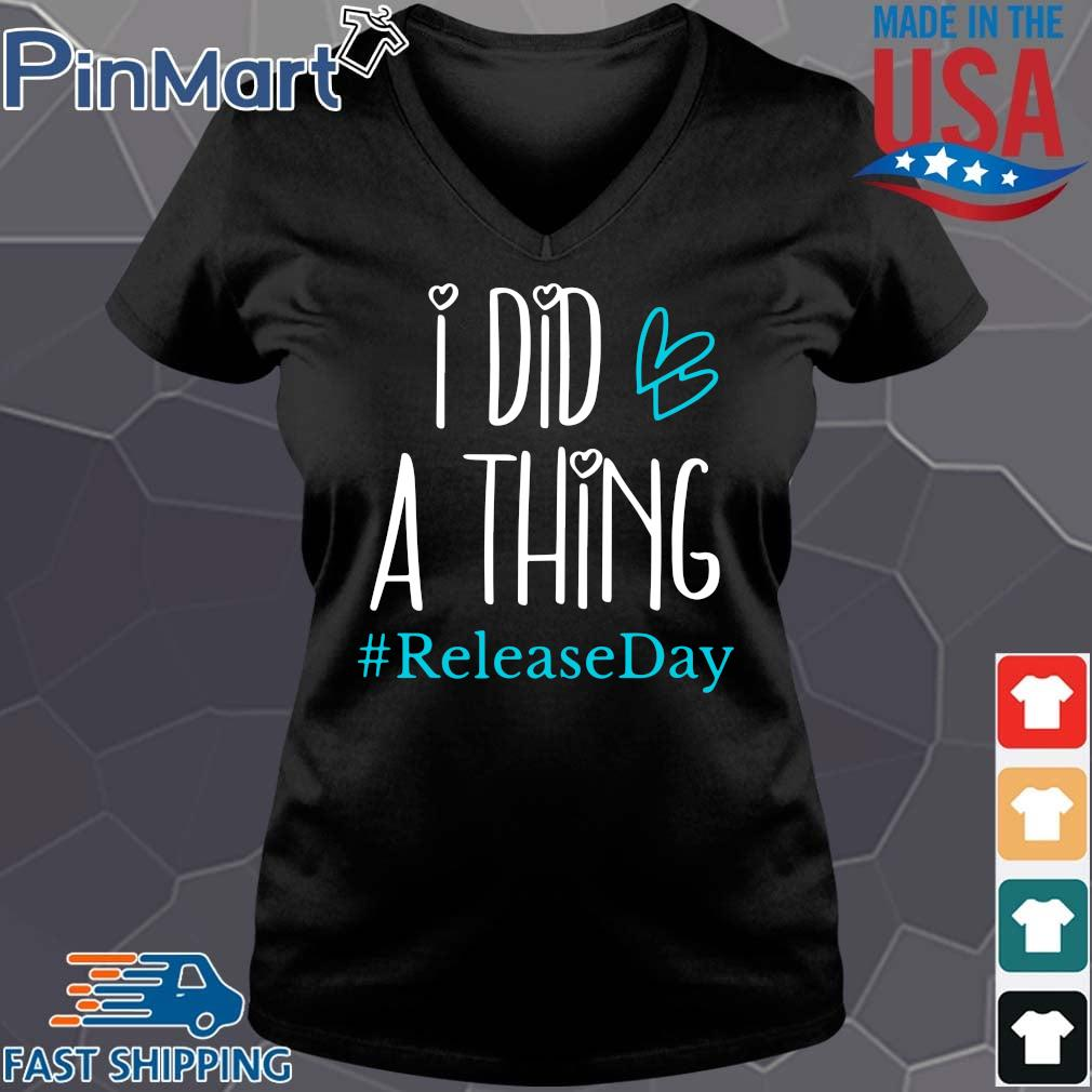 I did a thing #Releaseday s Vneck den