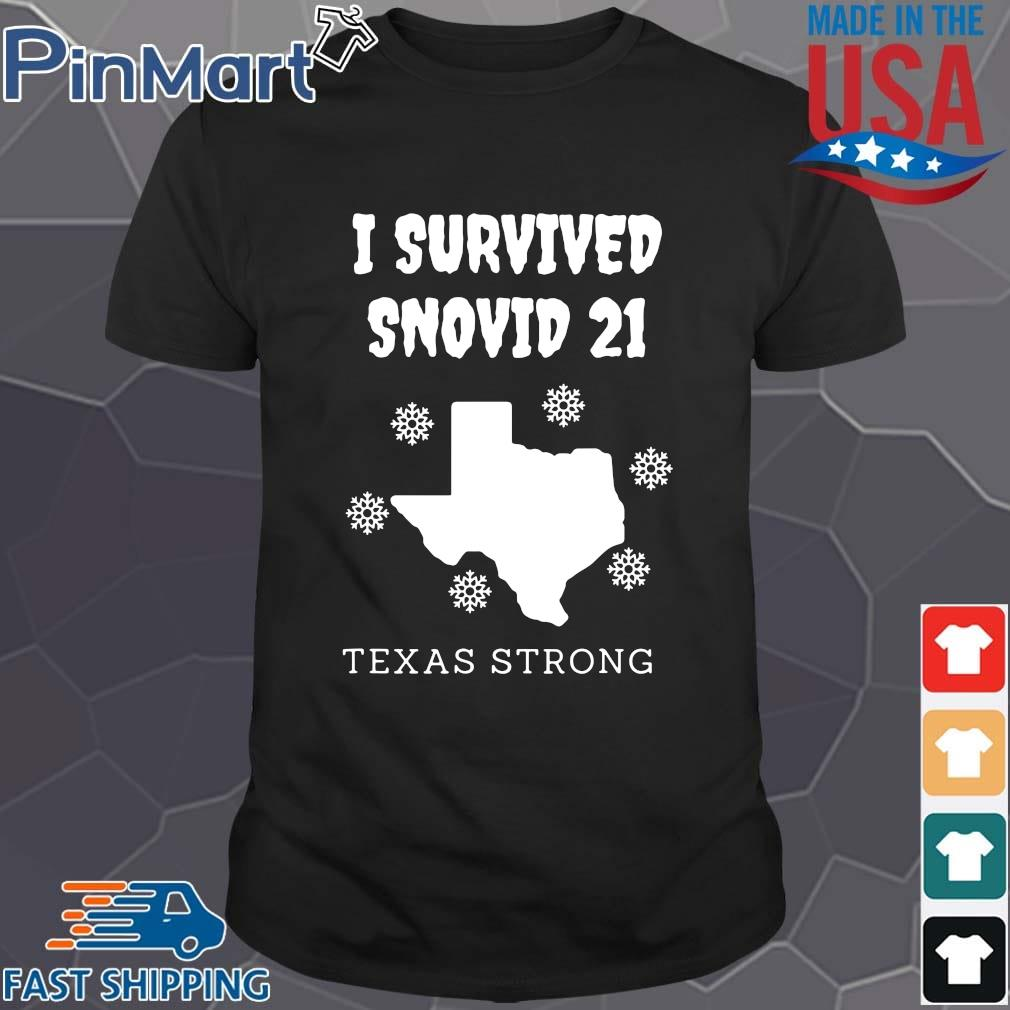 I survived 2021 Texas strong shirt