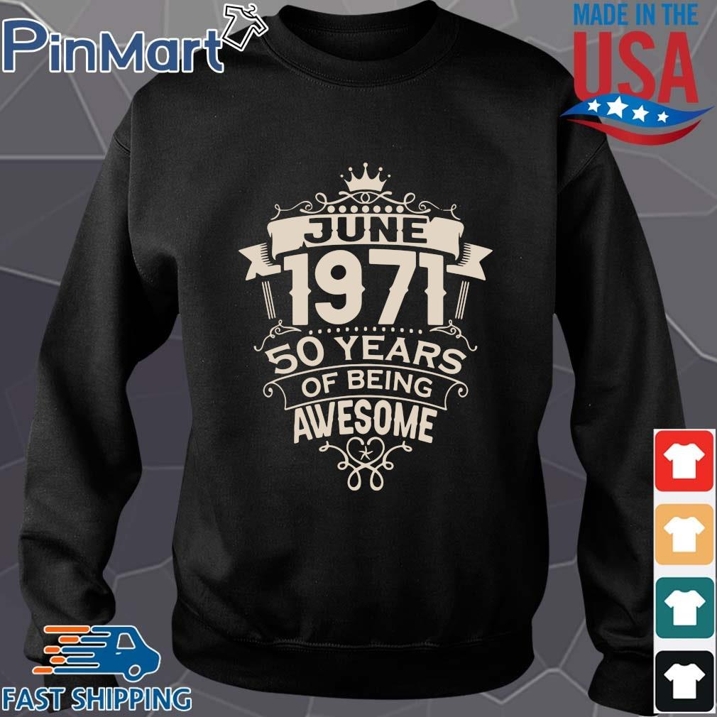 June 1971 50 years of being awesome s Sweater den