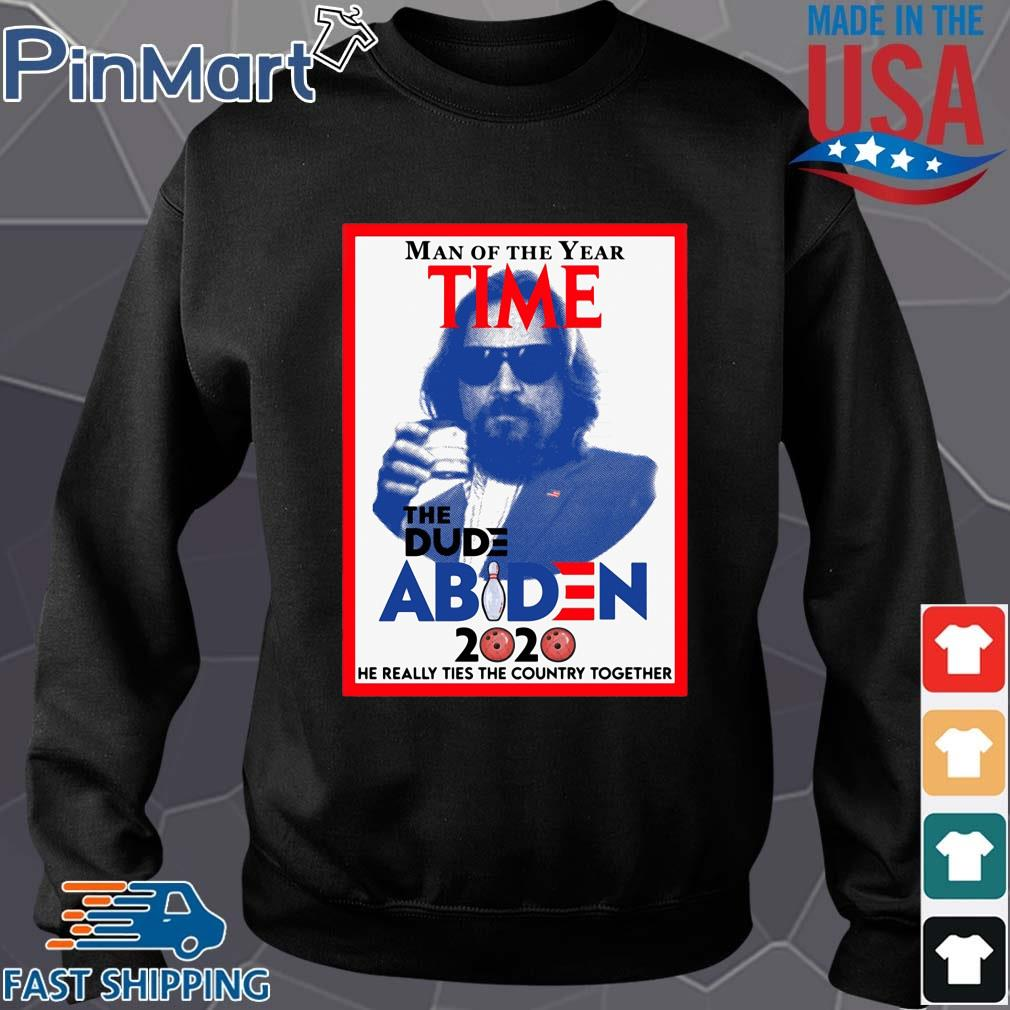 Man of the year time the dude Abiden 2020 he really tied the country together Sweater den