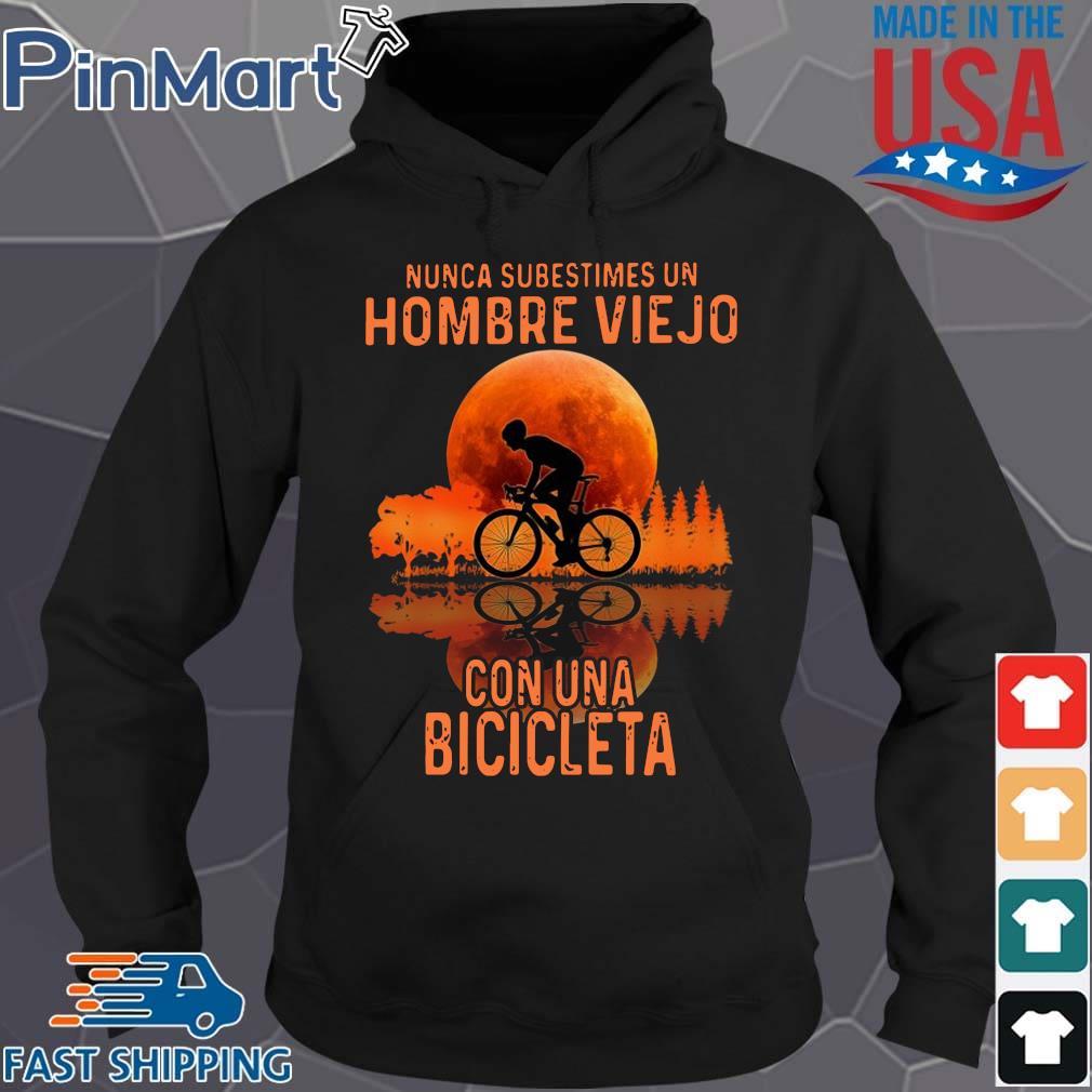 Nunca subestimes un hombre viejo con una bicicleta sunset Hoodie den