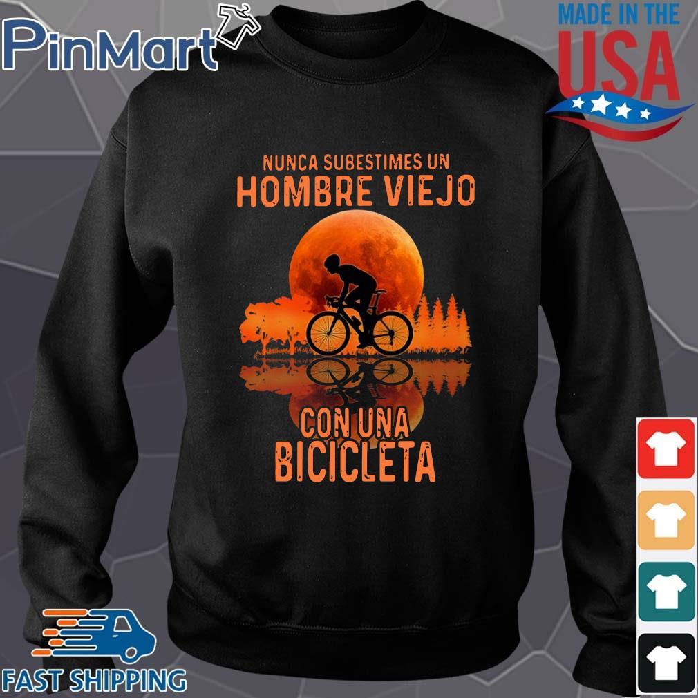 Nunca subestimes un hombre viejo con una bicicleta sunset Sweater den