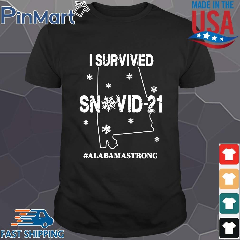 Official I survived snovid-21 #Alabamastrong shirt