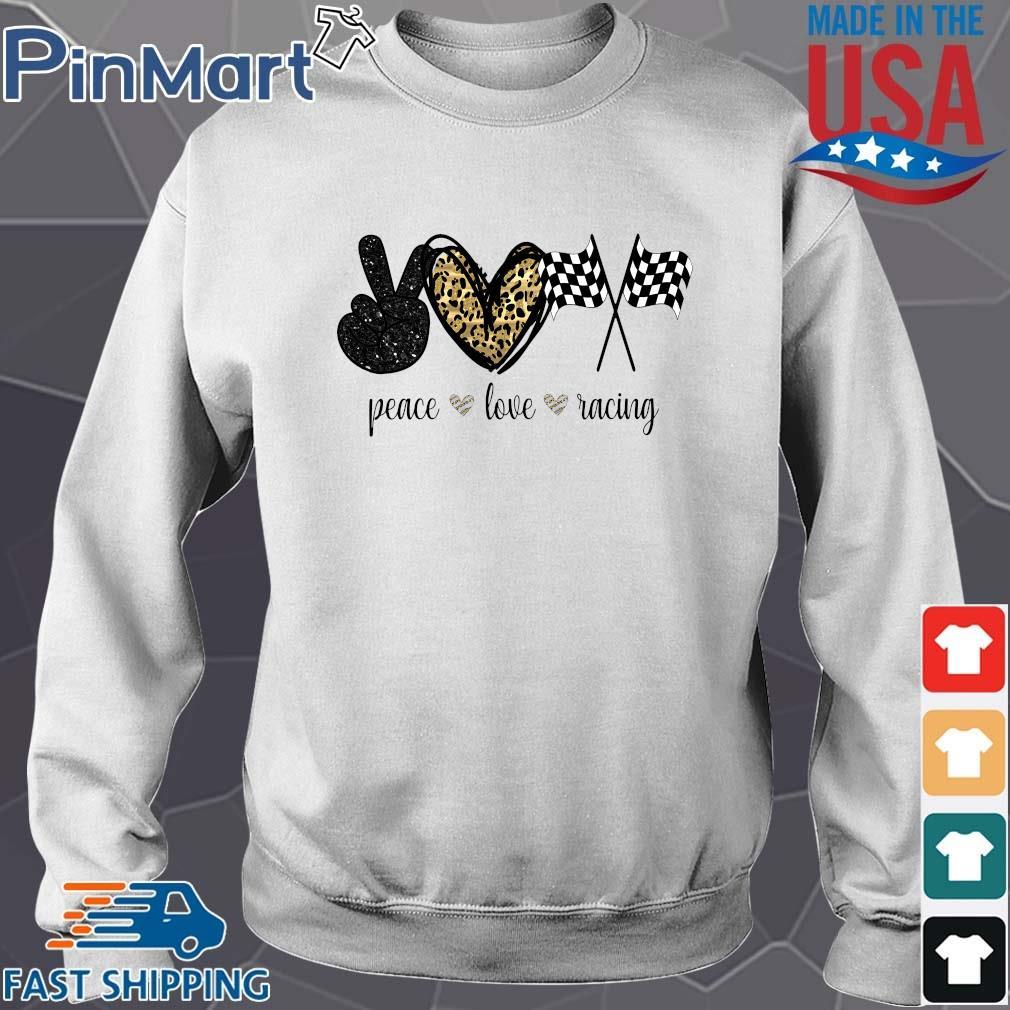 Peace Love Racing Diamond Shirt
