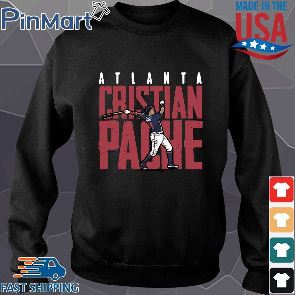 Atlanta Rristian Pache baseball Sweater den