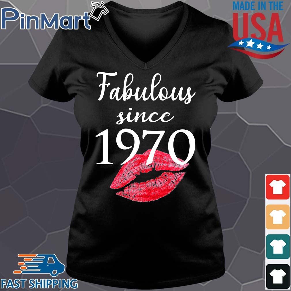Fabulous since 1970 lips Vneck den