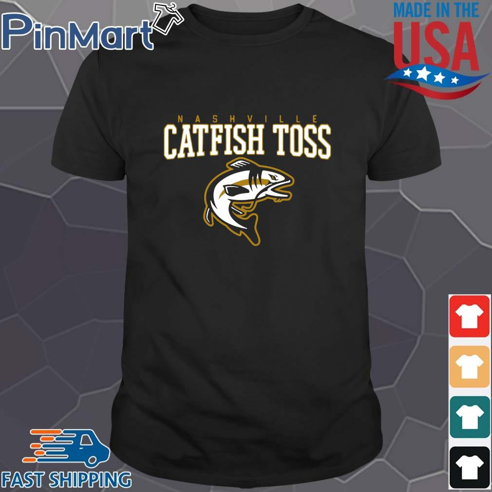 Nashville catfish toss shirt