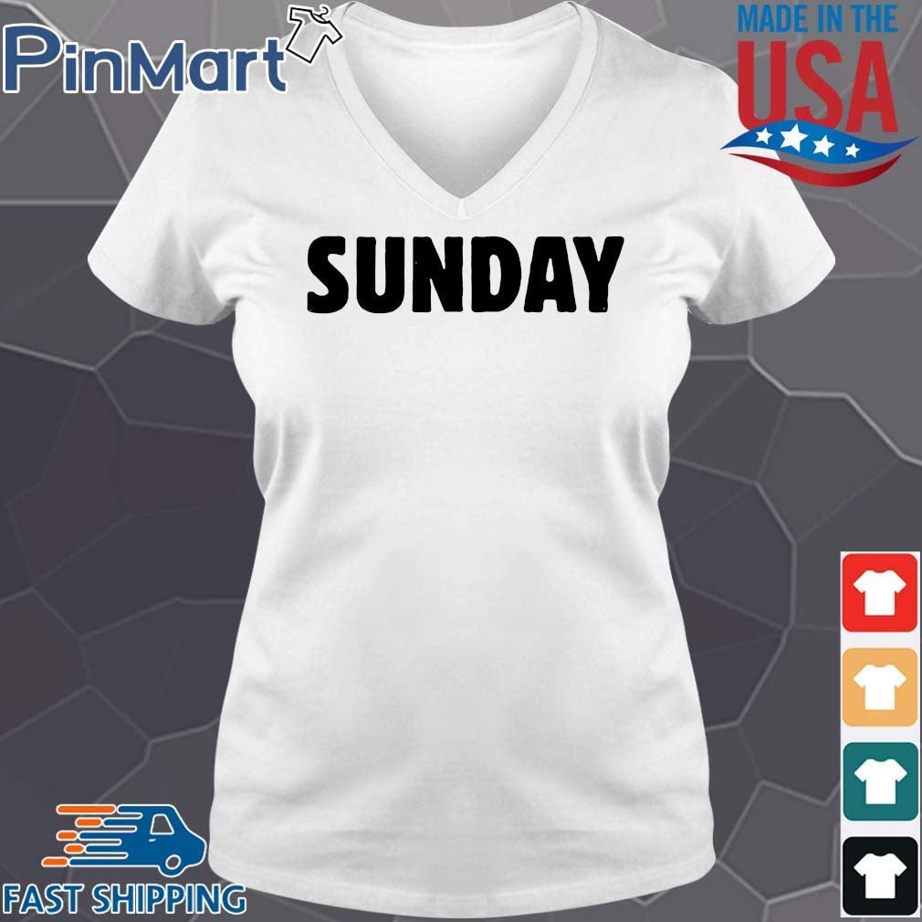 Official 2021 Sunday Shirt V-neck trang