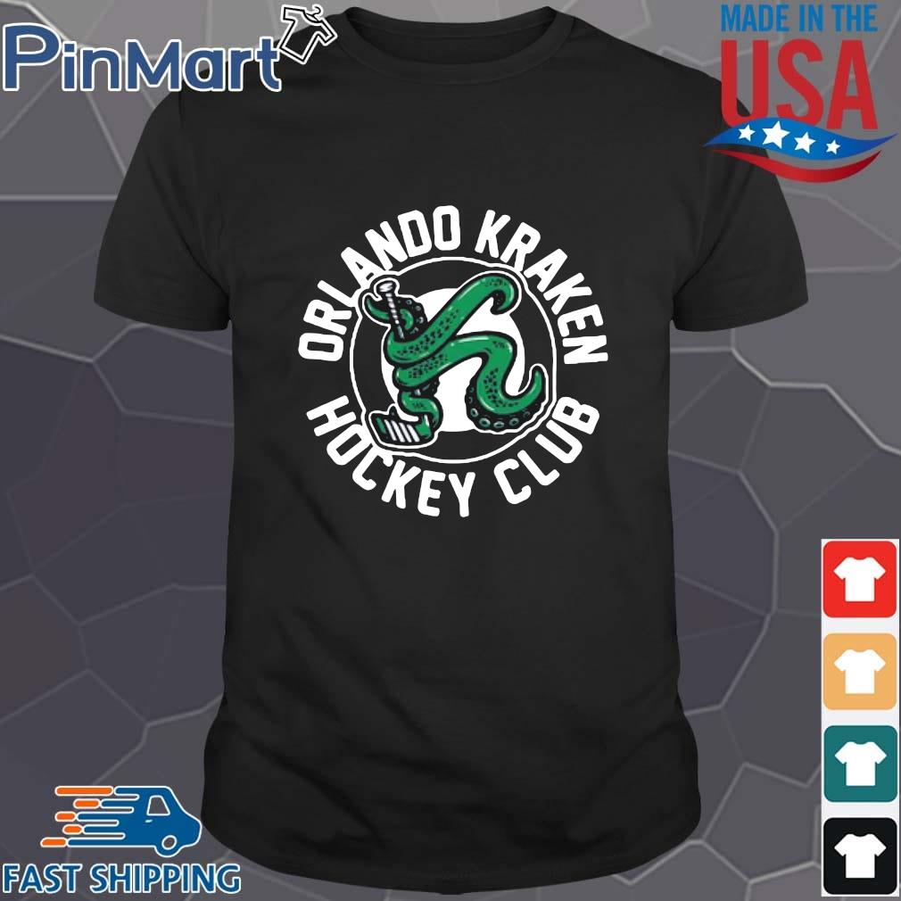 Orlando Kraken hockey club shirt
