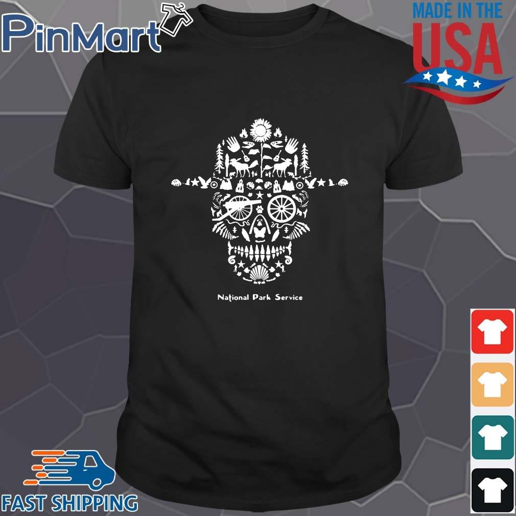 Skull animal national park service shirt
