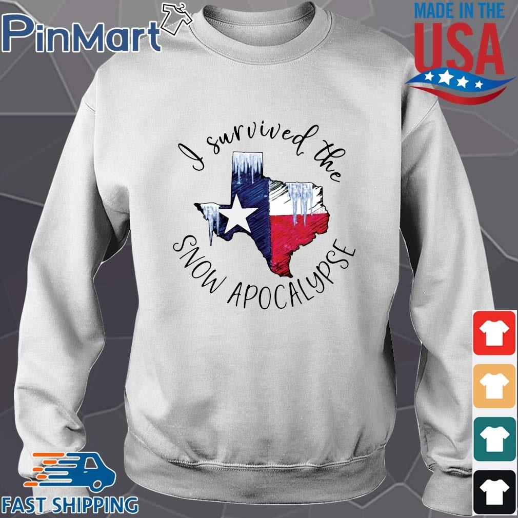 Texas I survived the snow apocalypse shirt