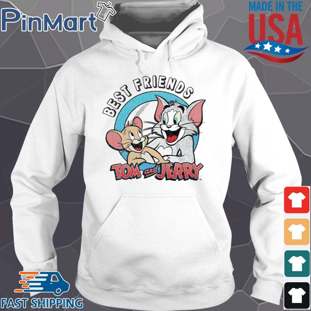 Tom And Jerry Best Friends Shirt Hoodie trang