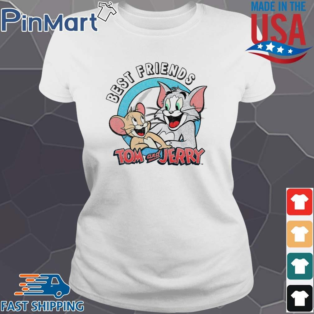 Tom And Jerry Best Friends Shirt Ladies trang