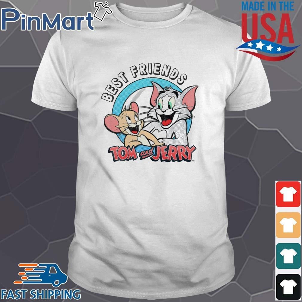 Tom And Jerry Best Friends Shirt Shirt trang