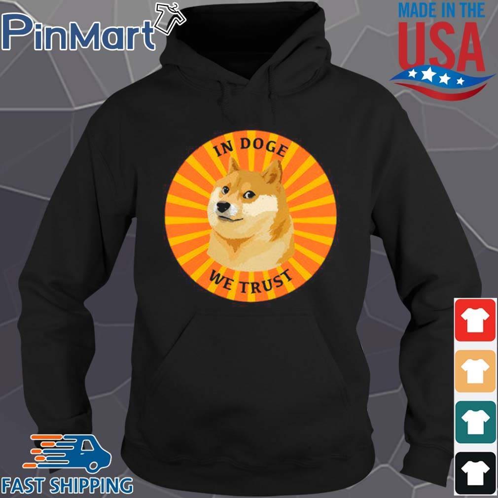 Dogecoin In Doge We Trust Retro s Hoodie den