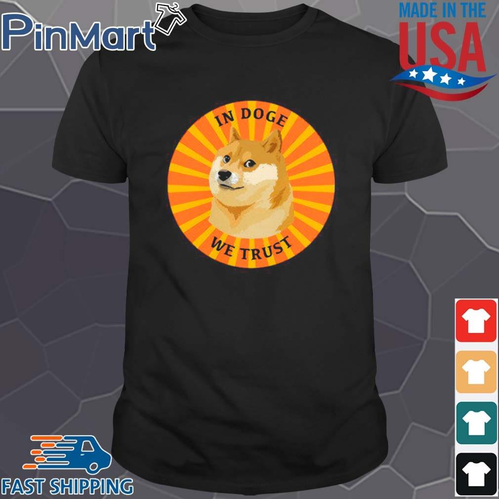 Dogecoin In Doge We Trust Retro shirt
