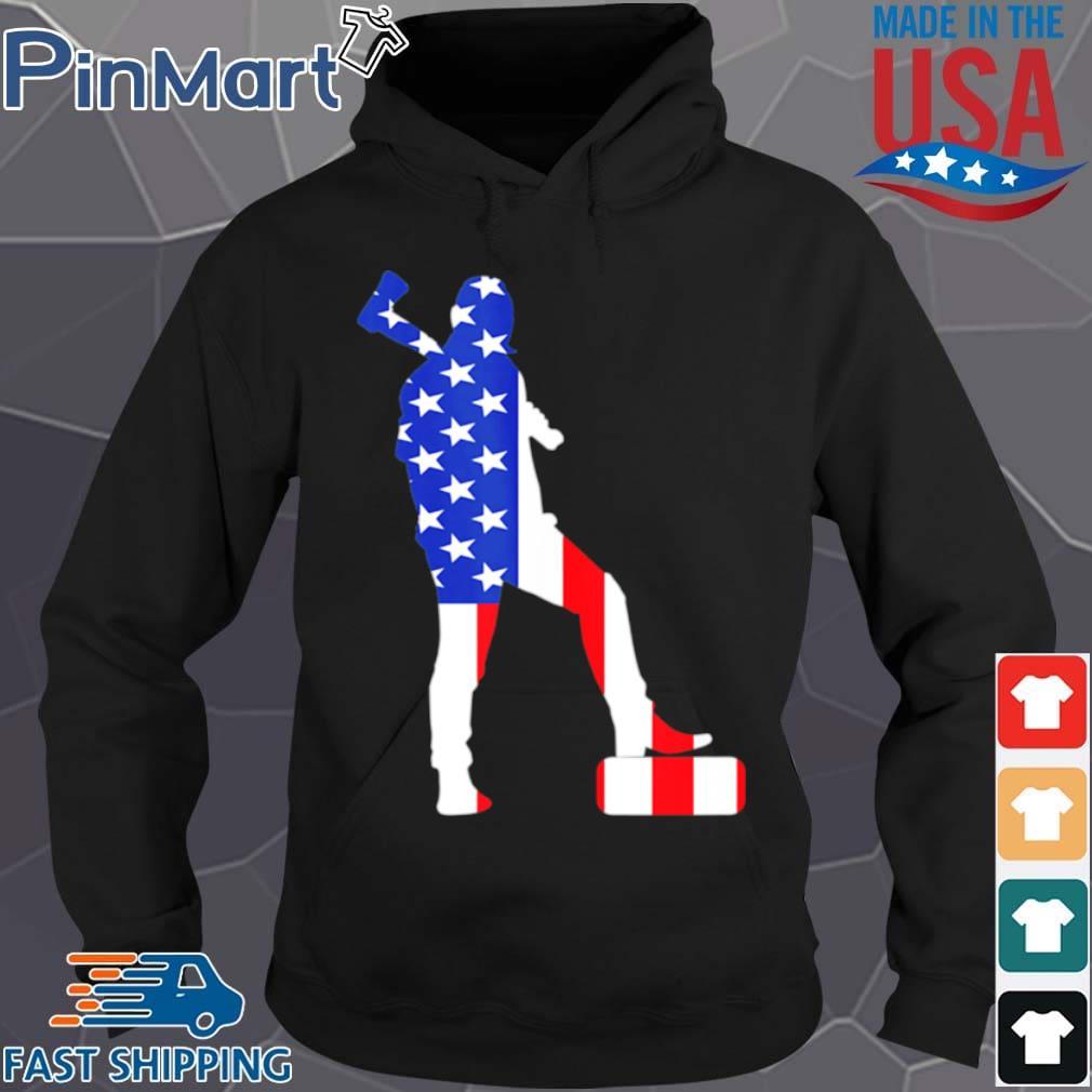 Lumberjack USA Flag American s Hoodie den