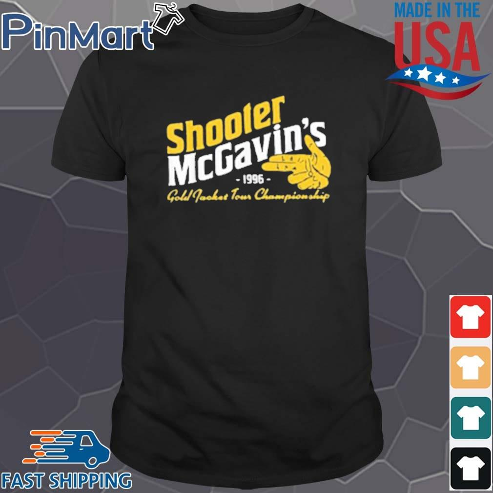 Shooter McGavins 1996 Gold Jacket Tour Championship Shirt