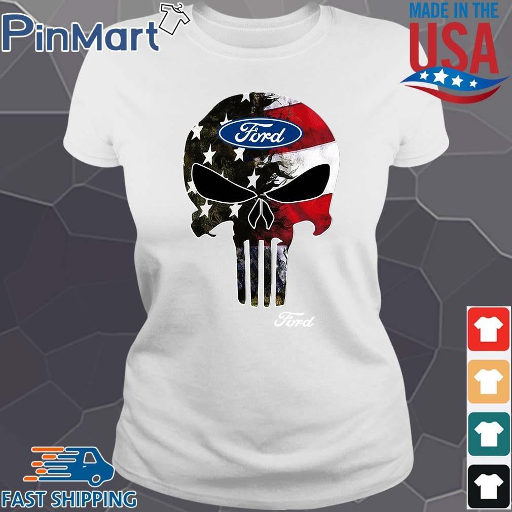 Skull Ford Logo Shirt Ladies trang