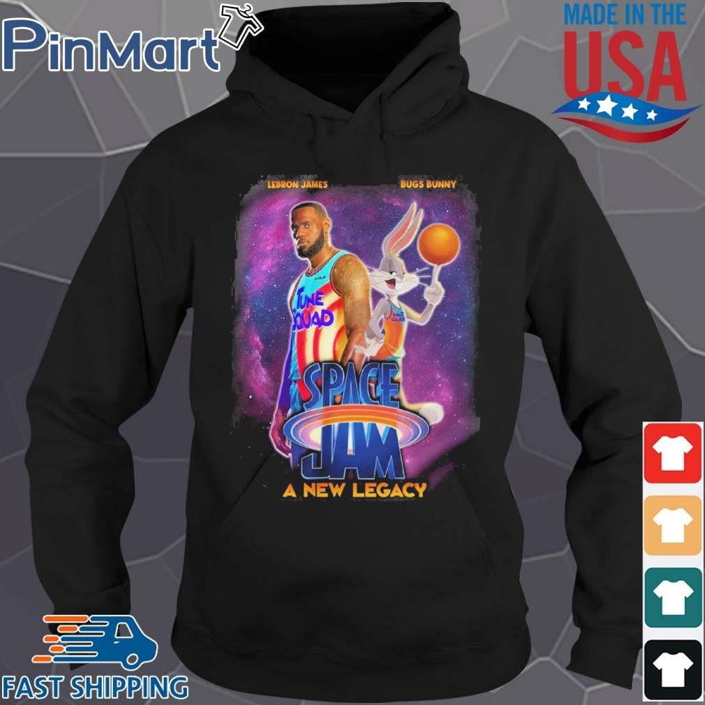Space Jam 2 A New Legacy Lebron James T-Shirt Hoodie den