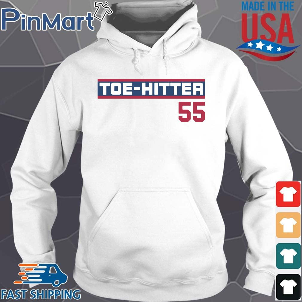 Toe-Hitter 55 2021 Shirt Hoodie trang