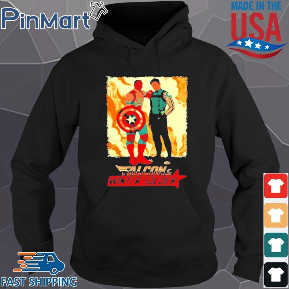 Falcon Winter Soldier Captain America Shirt Hoodie den
