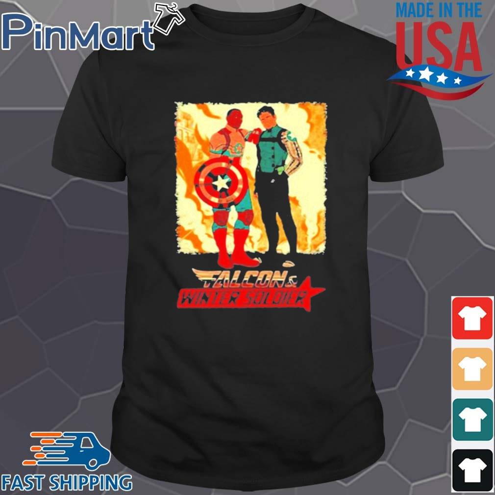 Falcon Winter Soldier Captain America Shirt
