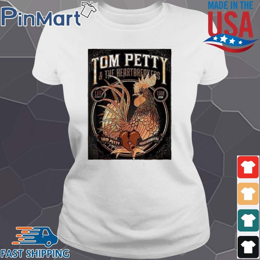 Tom Petty And The Heartbreakers Chicken Shirt Ladies trang