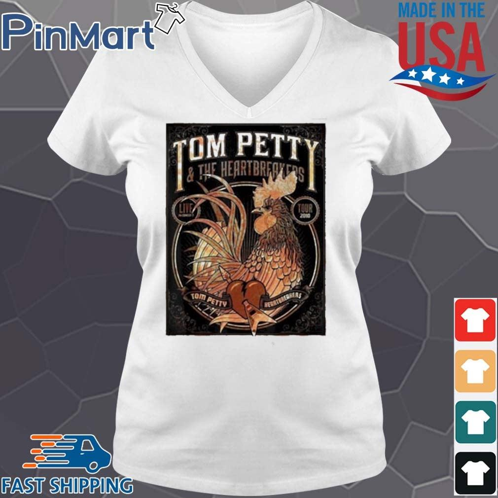 Tom Petty And The Heartbreakers Chicken Shirt V-neck trang