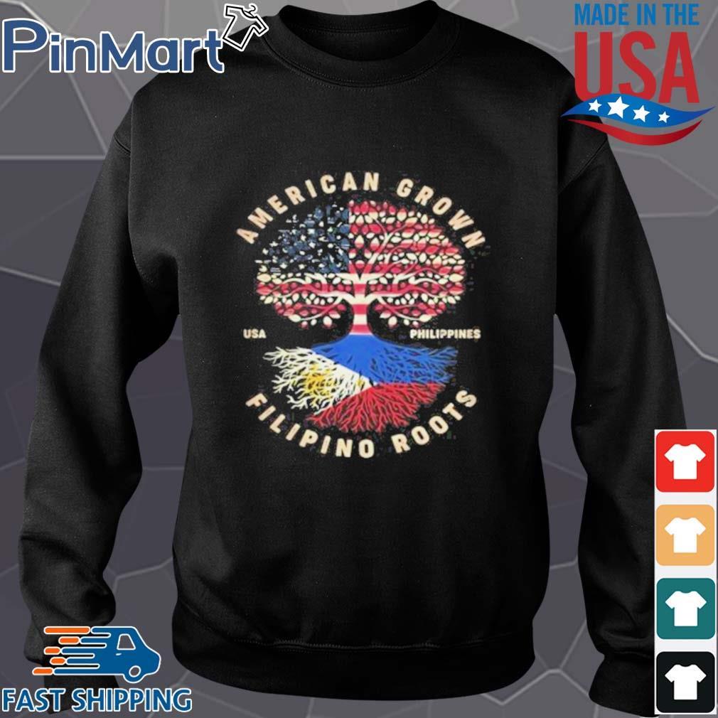 American Grown Filipino Roots Shirt Sweater den