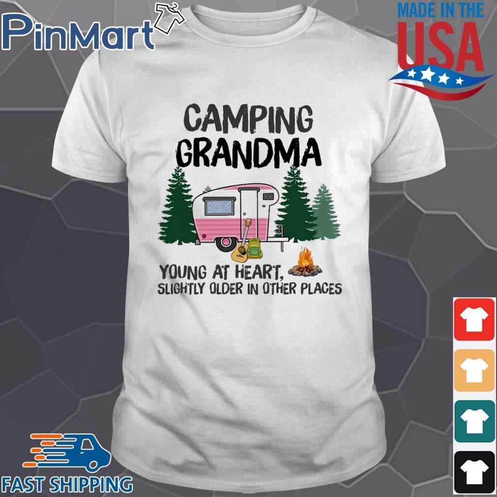 Camping Grandma TShirt