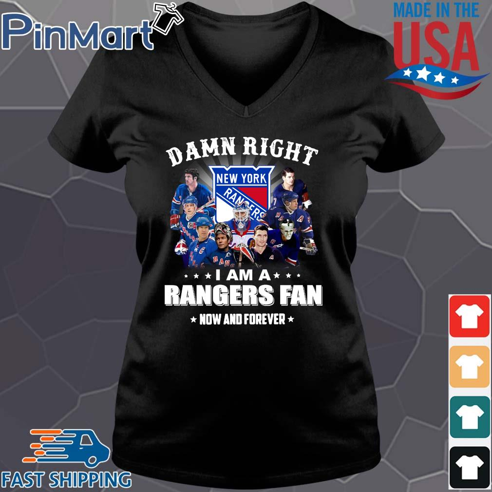 Damn right I am a rangers fan now and forever stars s Vneck den