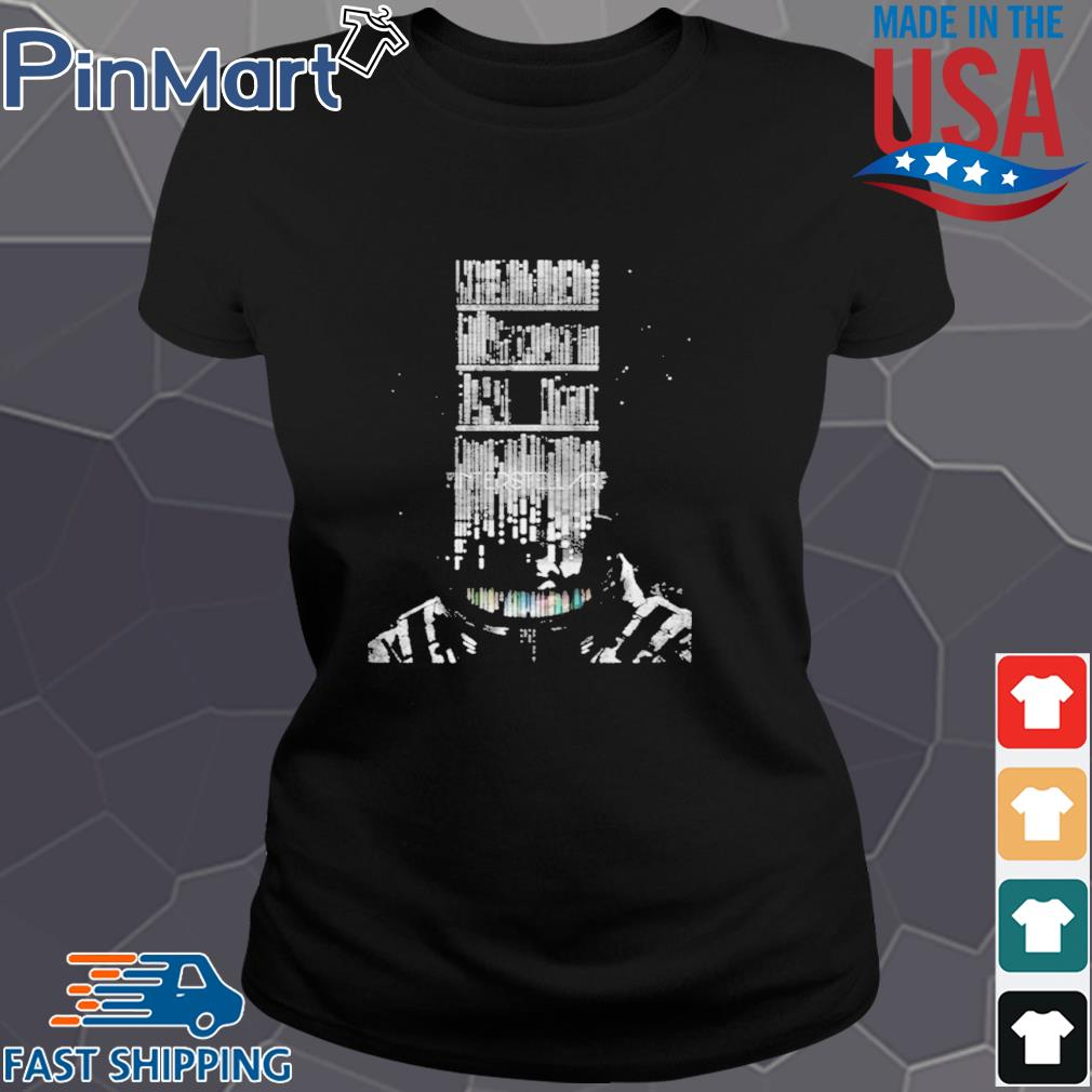 Funny Interstellar Poster Shirt Ladies den