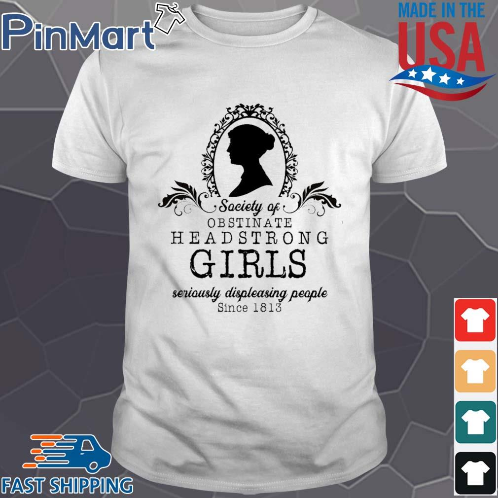 Jane Austen Society shirt