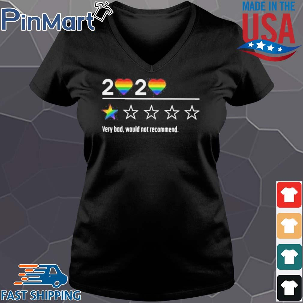 Lgbt 2020 heart very bad would not recommend stars s Vneck den