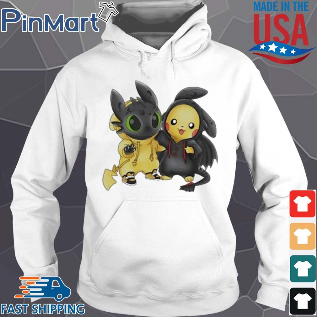 Baby Toothless and Pikachu s Hoodie trang