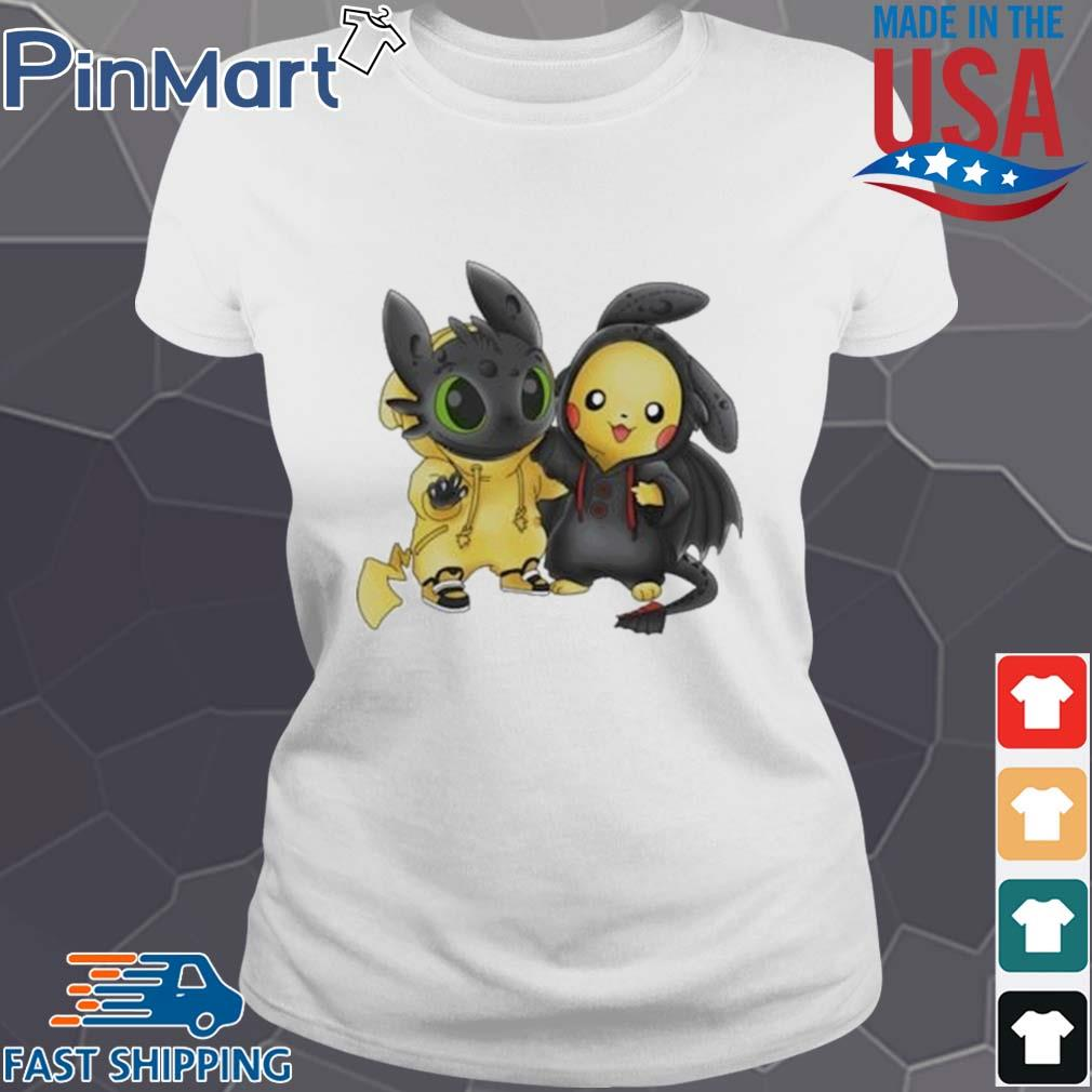 Baby Toothless and Pikachu s Ladies trang