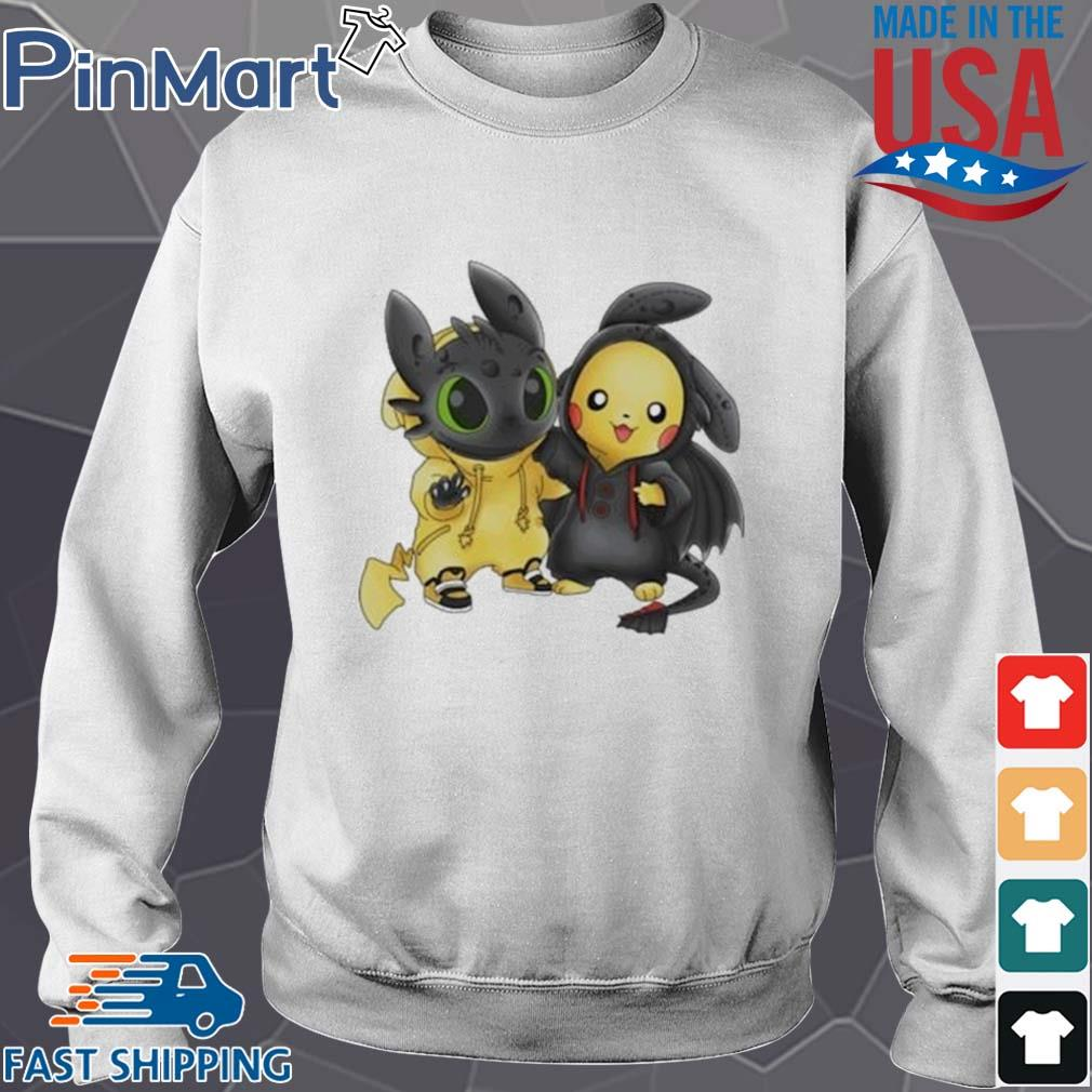 Baby Toothless and Pikachu s Sweater trang