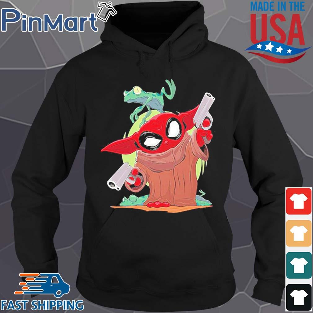 Baby yoda spiderman and frog s Hoodie den