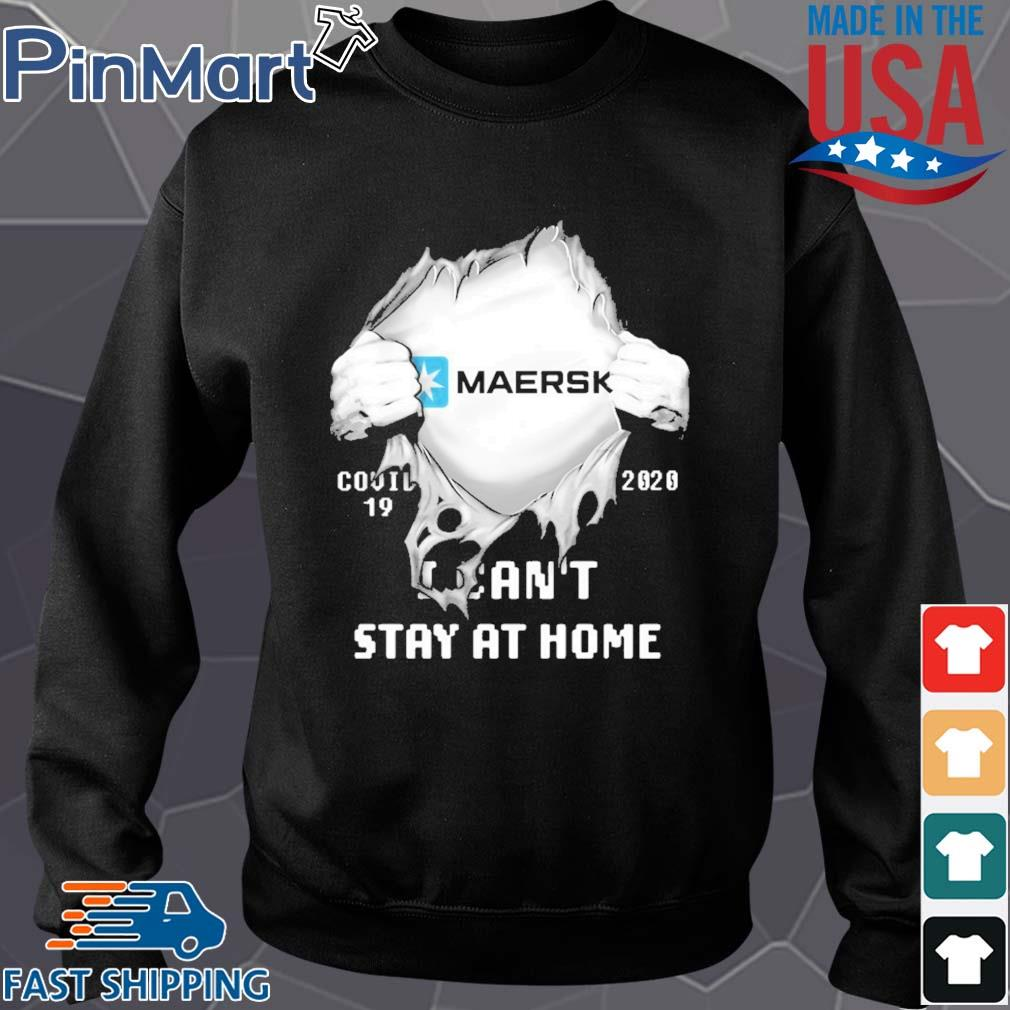 Blood insides maersk covid-19 2020 i can't stay at home s Sweater den