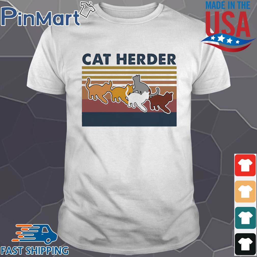 Cat herder Vintage shirt