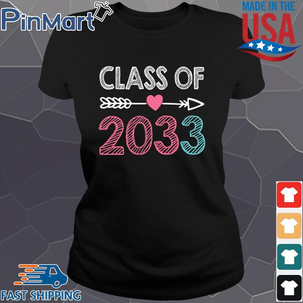 Class Of 2033 Shirt Ladies den