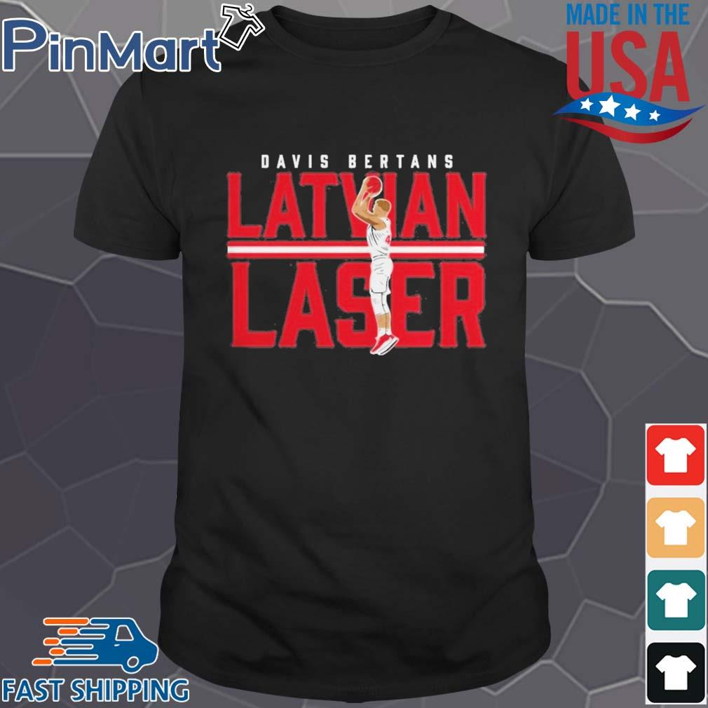 Davis Bertans Latvian Laser shirt