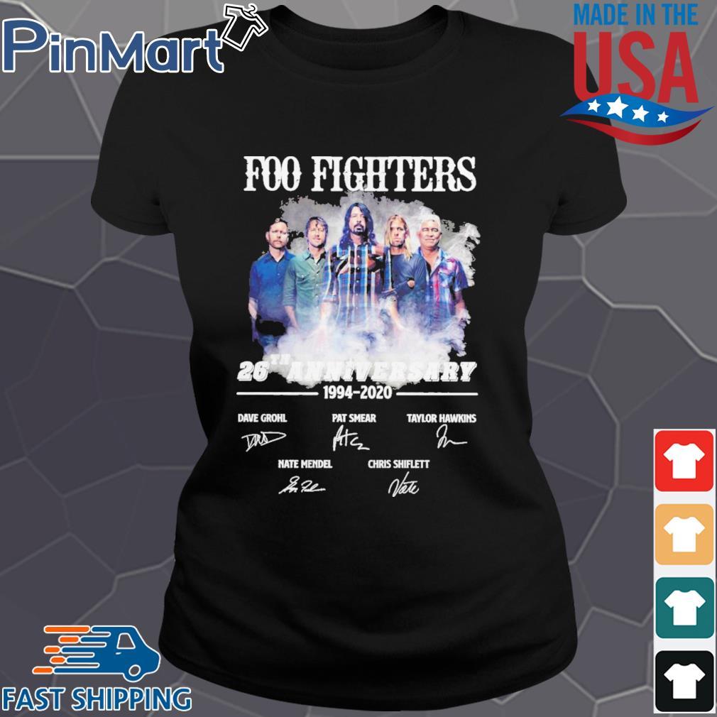 Foo Fighters 26th Anniversary 1994 2020 Signatures s Ladies den