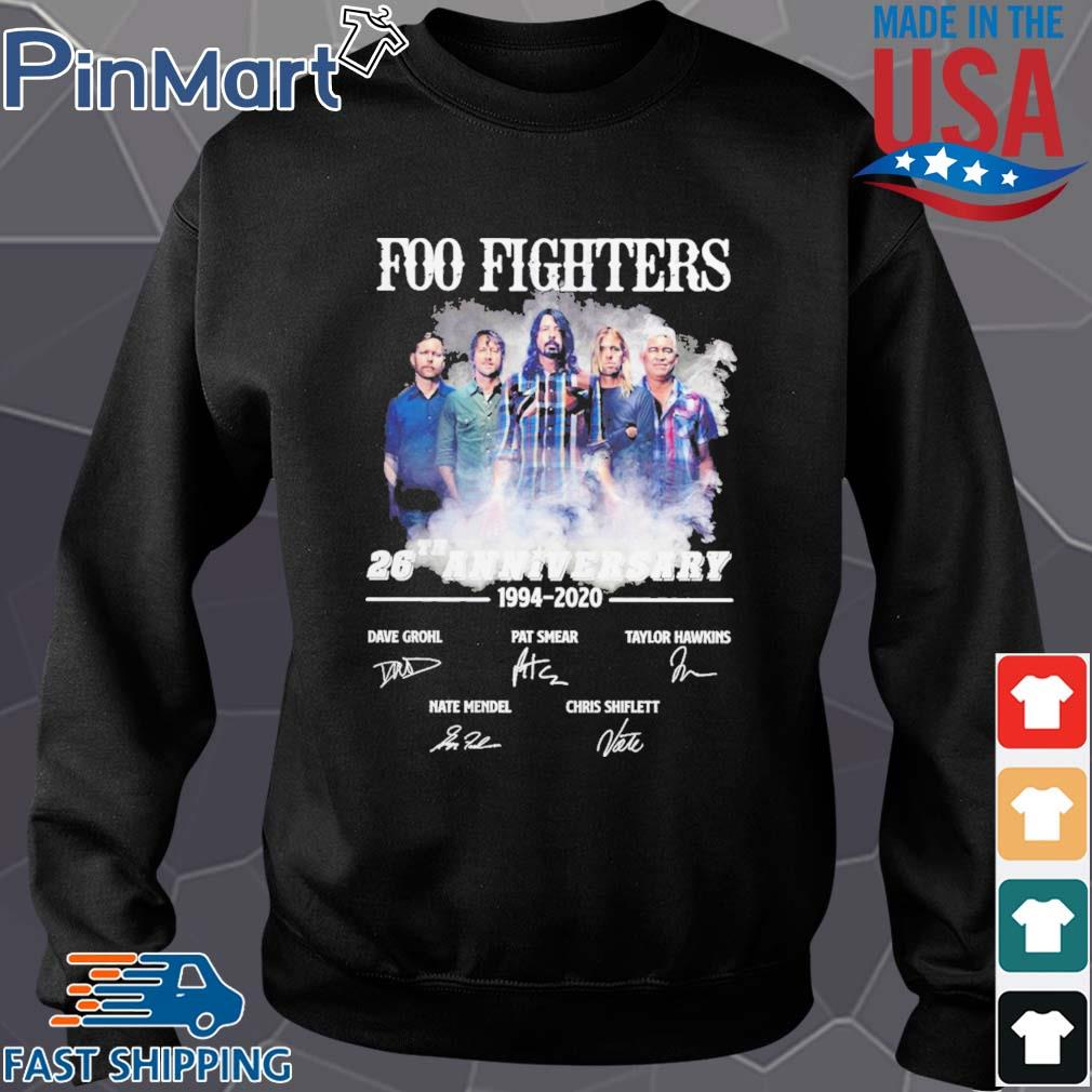Foo Fighters 26th Anniversary 1994 2020 Signatures s Sweater den
