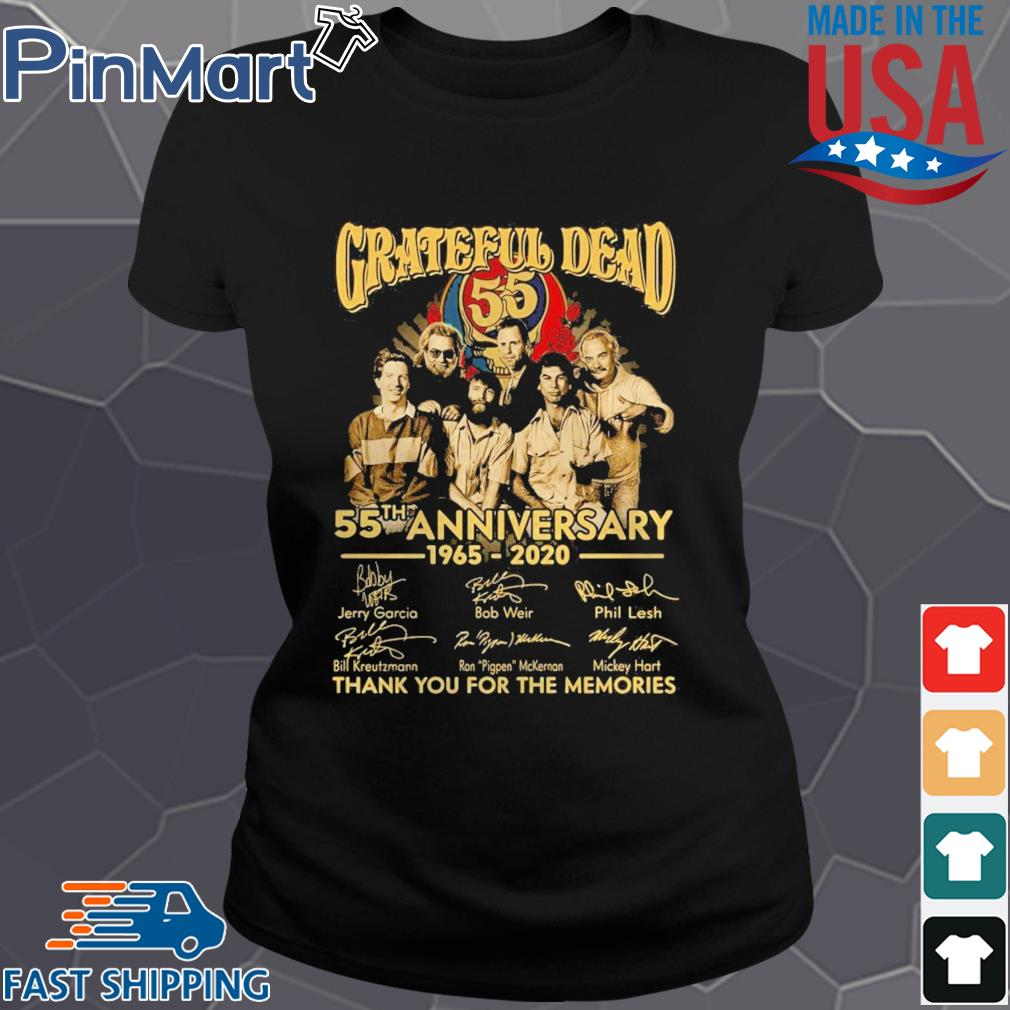 Grateful Dead Anniversary Thank You For The Memories s Ladies den