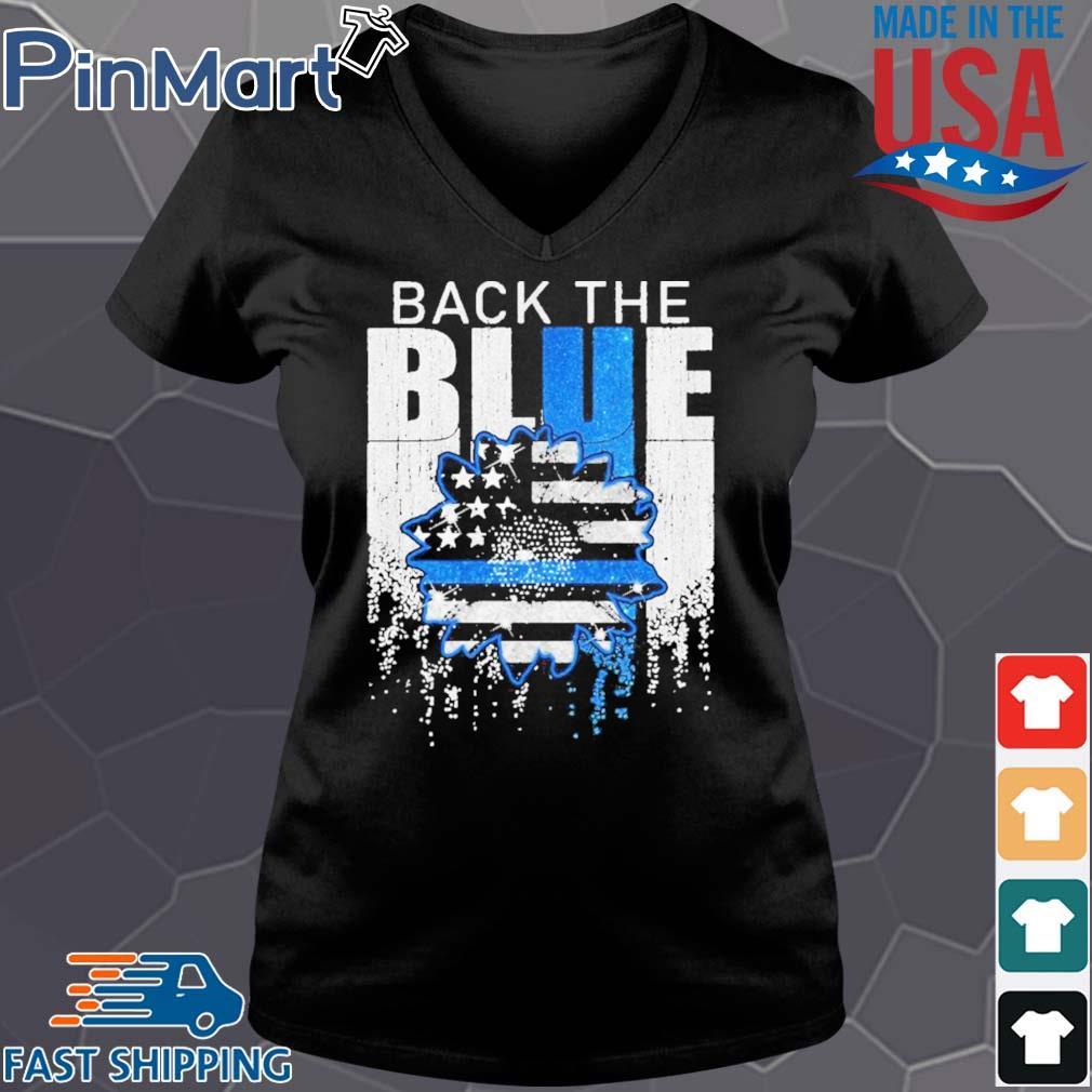 Independence day black the blue s Vneck den