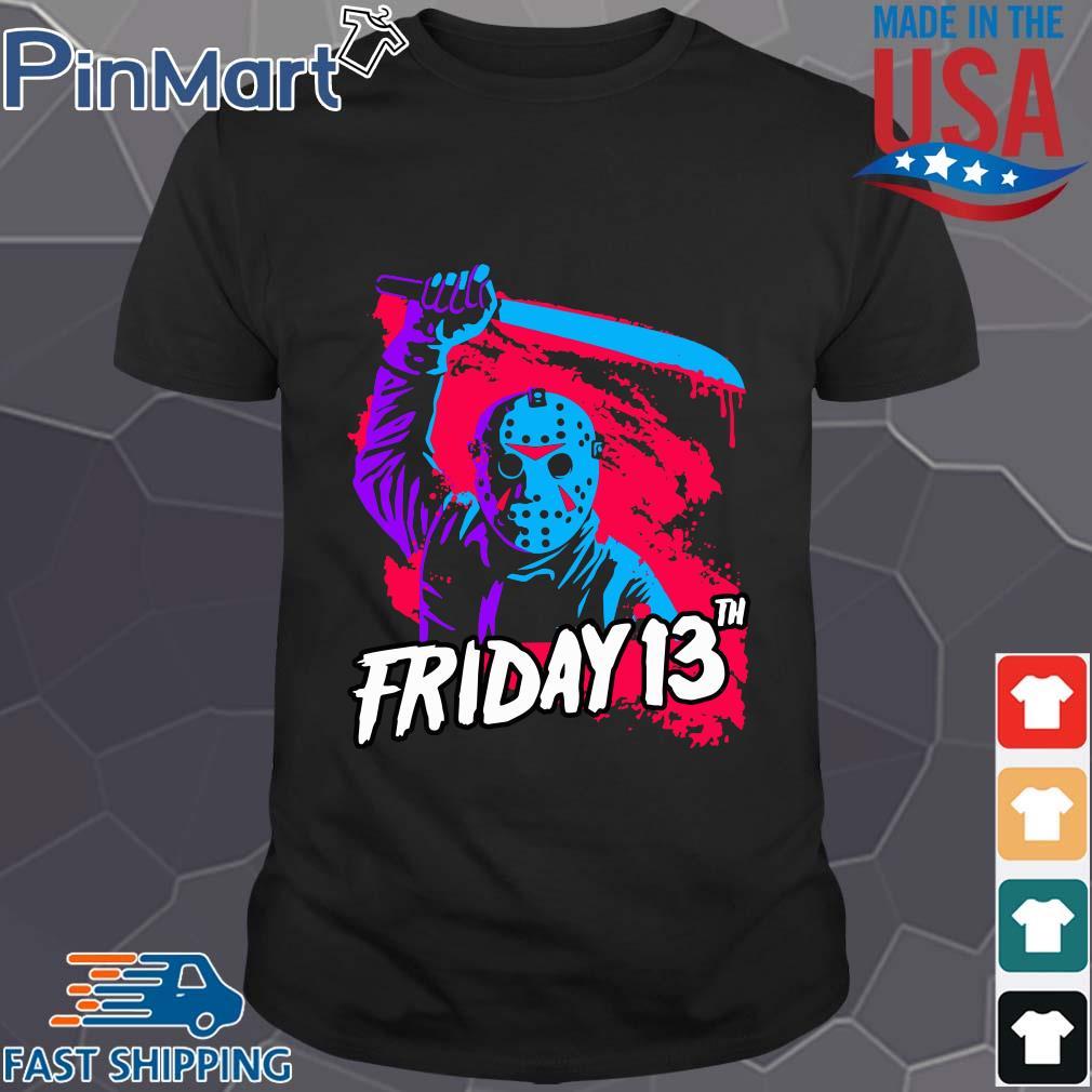 Jason Voorhees Friday 13th Halloween shirt